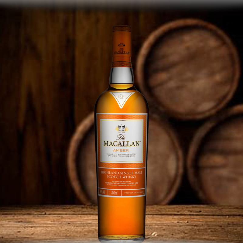 macallans amber whisky