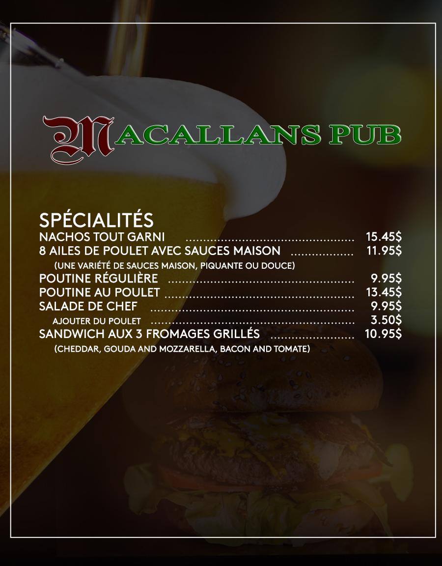 macallans french menu part 2 feb 19