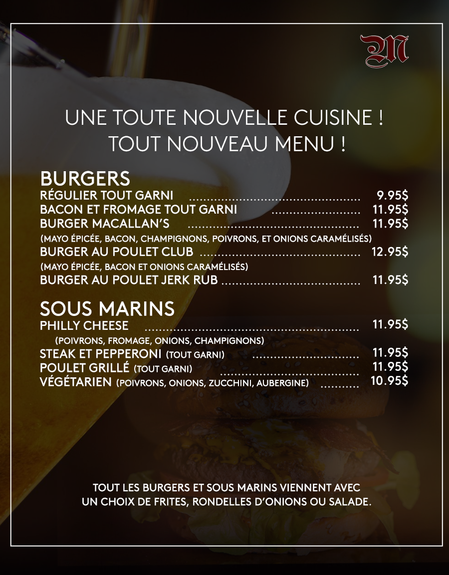 macallans french menu part one feb 19